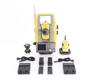 Topcon Ps 103a Robotic Total Station Kit W Rc 5 Prism