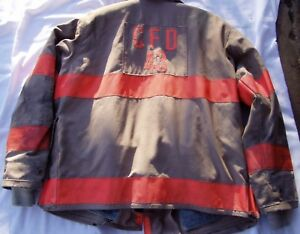 Ramwear Firefighter Turnout Coat Bunker Gear Jacket Size 46 X 26 Fire Protection
