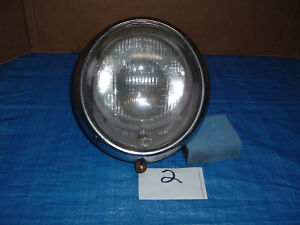Vintage Vw Headlight Assembly Complete Replaces 111941153d With Hella Lens 2