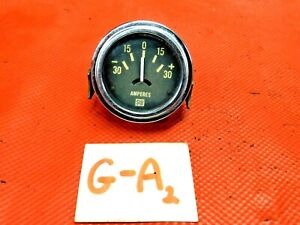 Stewart warner Amp Gauge Old Style Tested