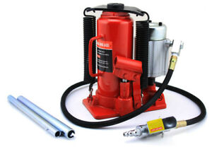 12ton Air Operated Powered Power Over Hydraulic Portable Bottle Jack Lift