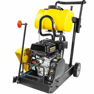 6 5hp Engine Walk Behind Construction Floor Concrete Cement 14 Gas Cut Off saw