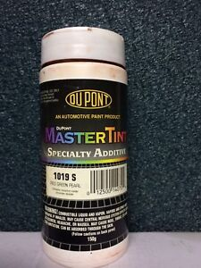 New Dupont Master Tint1019 S 150 Net Grams Foor Just 69 Red Green Pearl