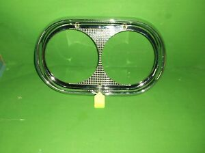 1958 Ford Truck Dual Headlight Bezel Nos B8t 13045 B Left