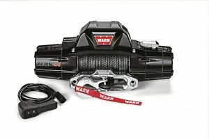 Warn 89611 Zeon 10 S Winch With Synthetic Rope 10000 Lb Capacity