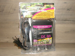 Enforcer Series Electric Fence Energizer 5 Acre Plug in 110 volt New Read