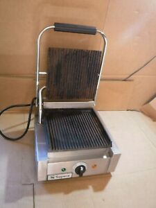 Nice Supera Commercial Nsf Sandwich Grill 120v Model Sgl1 1