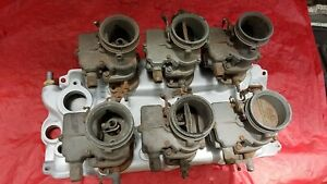 1958 65 Chevy 348 409 Offenhauser 6x2 Set Up With Stromberg Carburetors