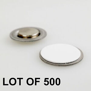 Round Magnet With Adhesive For Name Badges Tags Lapel Pin Lot Of 500 rm01 500