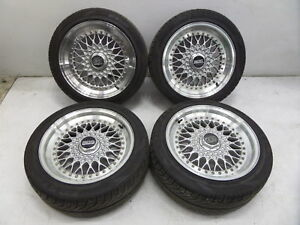 Bbs Rs 16 7 8 Wheels Bmw E30 E36 M3 E34 M5 E28 E38 E24 M6 5 120 No Tires