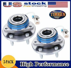 Timken 2 Front Wheel Bearing Hub Assembly Fit Chevy Impala Monte Carlo Buick