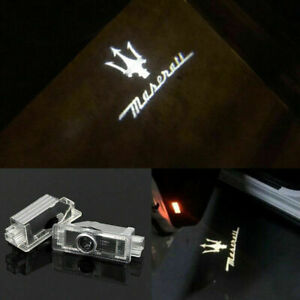 Welcome Courtesy Led Door Light Projector Logo Hd For 2014 2017 Maserati Ghibli