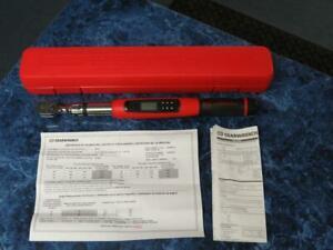 Gearwrench Electronic Torque Wrench 3 8 Inch Drive Flex head W Case