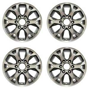 Kia Sedona 2014 17 Oem Wheel Rim Set