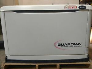 Generac 8kw Automatic Standby Generator Natural Gas Lp Certified Used 2
