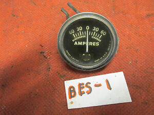 Stewart Warner Style Amp Gauge Old School Gc