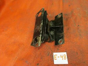 Triumph Tr6 Original Late Cf Rear Transmission Mount Complete