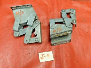Mg Midget Austin Healey Sprite Front Hood Hinges Matched Set Original