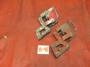Mg Midget Austin Healey Sprite Original Hood Hinges Matched Set Vgc