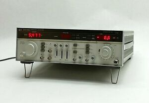 Hp Agilent 8683d Function Signal Solid state Microwave 2 3 13ghz Generator