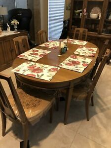 Mid Century Modern Dinette Set With Original Receipts And Matching Stereo And Tv