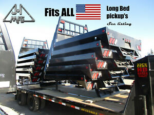 J i Long Bed Pickup Truck Bed Replacement Flat Bed Ford Chevy Dodge