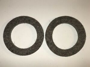 1914 29 Hudson Super Six 6 Front Wheel Felt Seal Grease Oil Retainer 14897 Qty 2
