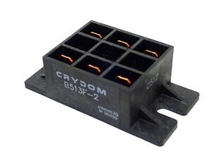 Crydom B513f 2 Power Module 25a 280vac Fw Diode Isolation Barriers Nos