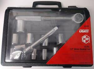 Kd Tools 91333 15 Piece 1 2 Drive Socket Set Usa