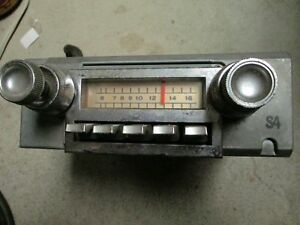 1965 1966 Ford Thunderbird Original Am Radio 5tms