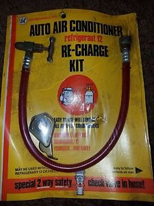 Interdynamics Air Conditioner Recharge Kit Refrigerant 12