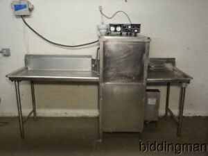 Jackson Alco 150b High Temp Commercial Dishwasher With Eagle Side Clean Tables