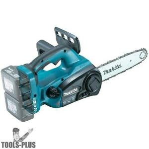 Makita Xcu02z 18 Volt X2 36v Lxt Lithium ion Cordless Chainsaw Tool Only Ob