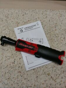 Snap On Ctr761c 3 8 14 4volt Microlithium Cordless Impact Ratchet Tool Only New