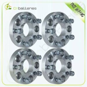 4x 25mm 1 5x114 3 Hubcentric Wheel Spacers 12x1 5 For 2003 2006 Acura Mdx
