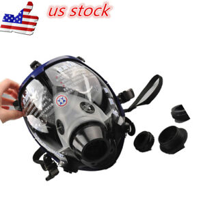 Us Large Full Face Anti dust Facepiece Respirator Painting Spraying Gas Mask