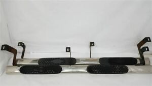Pair Of Chrome Running Boards Oem 2011 Gmc Sierra 2500 R320879
