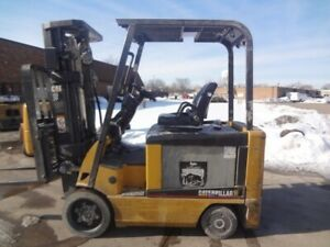 Used Electric Forklift 2006 Cat E6000 6000