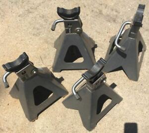 Pittsburgh 6 Ton Steel Jack Stands