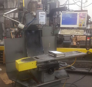 Atrump B3ec 3 Axis Cnc Bed Mill With Centroid Cnc Control