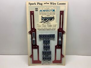 R m Specialties 105 Anodized Spark Plug Wire Loom Set For Small Block Ford 351w