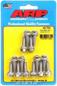 Arp 400 7508 1 4 20 Valve Cover Bolts Hex Head Stainless Steel Set Of 14