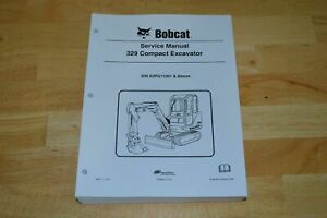 Bobcat 329 Compact Excavator Service Repair Manual