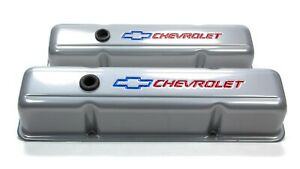 Proform 141 361 Steel Tall Valve Covers Fits Small Block Chevy Engines