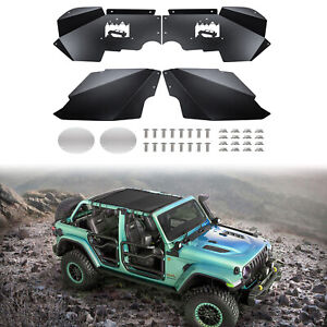 Front Inner Fender Liners Off Road Guards Fit 2007 2017 Jeep Wrangler Jk 4wd