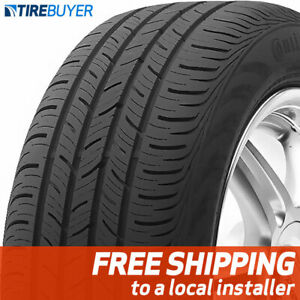 4 New P215 45r17 87h Continental Contiprocontact 215 45 17 Tires