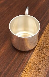 Beautiful Marathon Co Sterling Silver Baby Juice Cup Rita