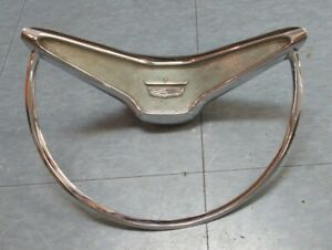 1960 Ford Fairlane Original used Steering Wheel Horn Ring For Power Steering