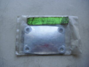 Nos Eelco Rochester 4 Bolt Block Off Plate 4276 Chrome 5
