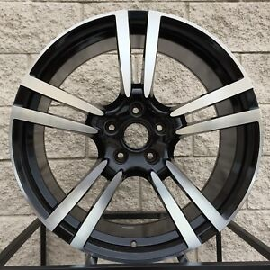 20 Porsche Cayenne Wheels And Tires Turbo Ii Gts Rims Black Machine
